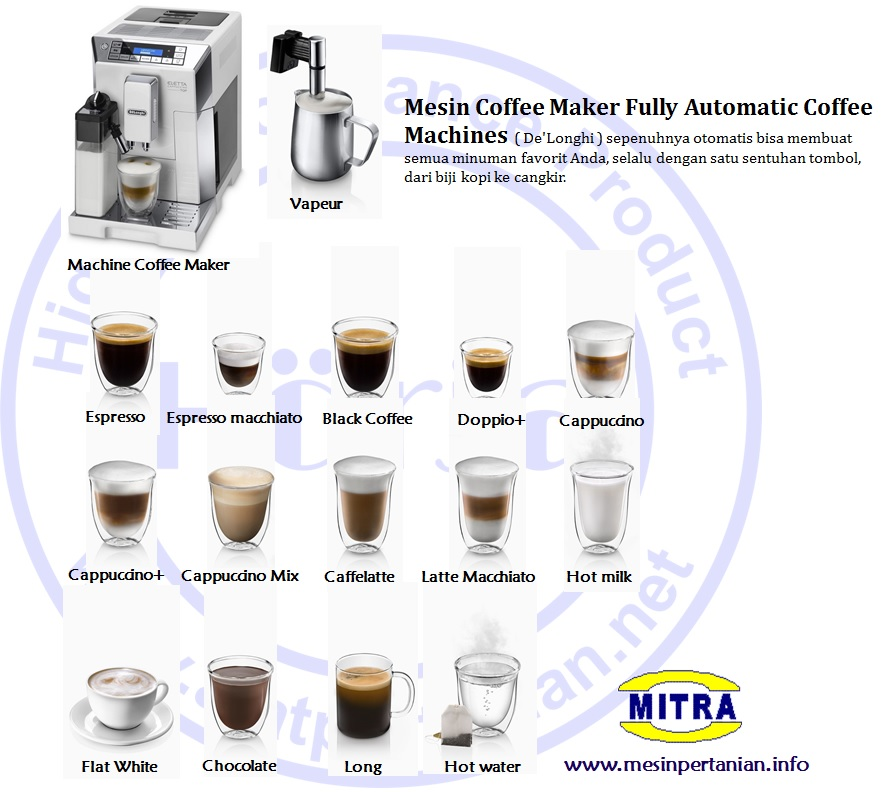 Mesin Coffee Maker Fully Automatic Coffee Machines